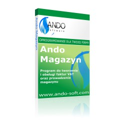 Ando Magazyn - program magazynowy i do fakturowania