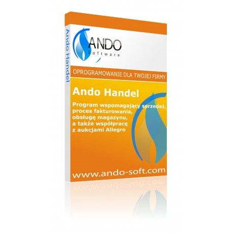 Ando Handel - program do sprzedaży z magazynem
