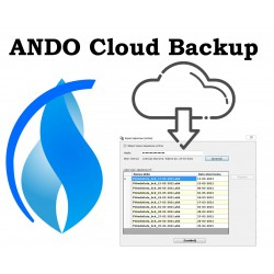 Kopie zapasowe online (w chmurze) do programów Ando Software - licencja roczna