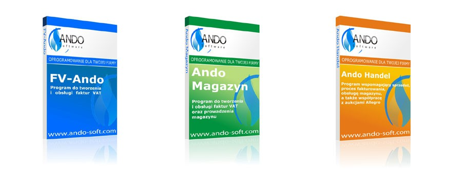 Ando Software - Oprogramowanie dla Twojej firmy